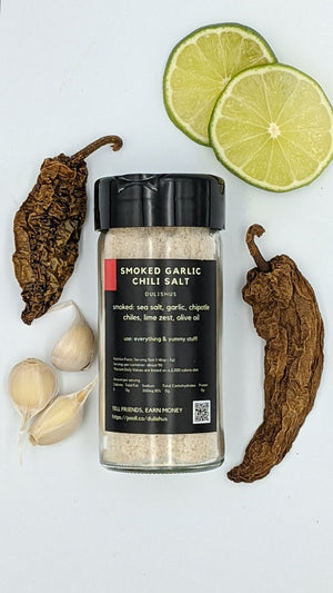 Smoked Chili Sea Salt