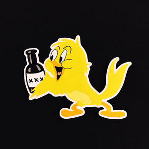 BOOZY BIRD Sticker
