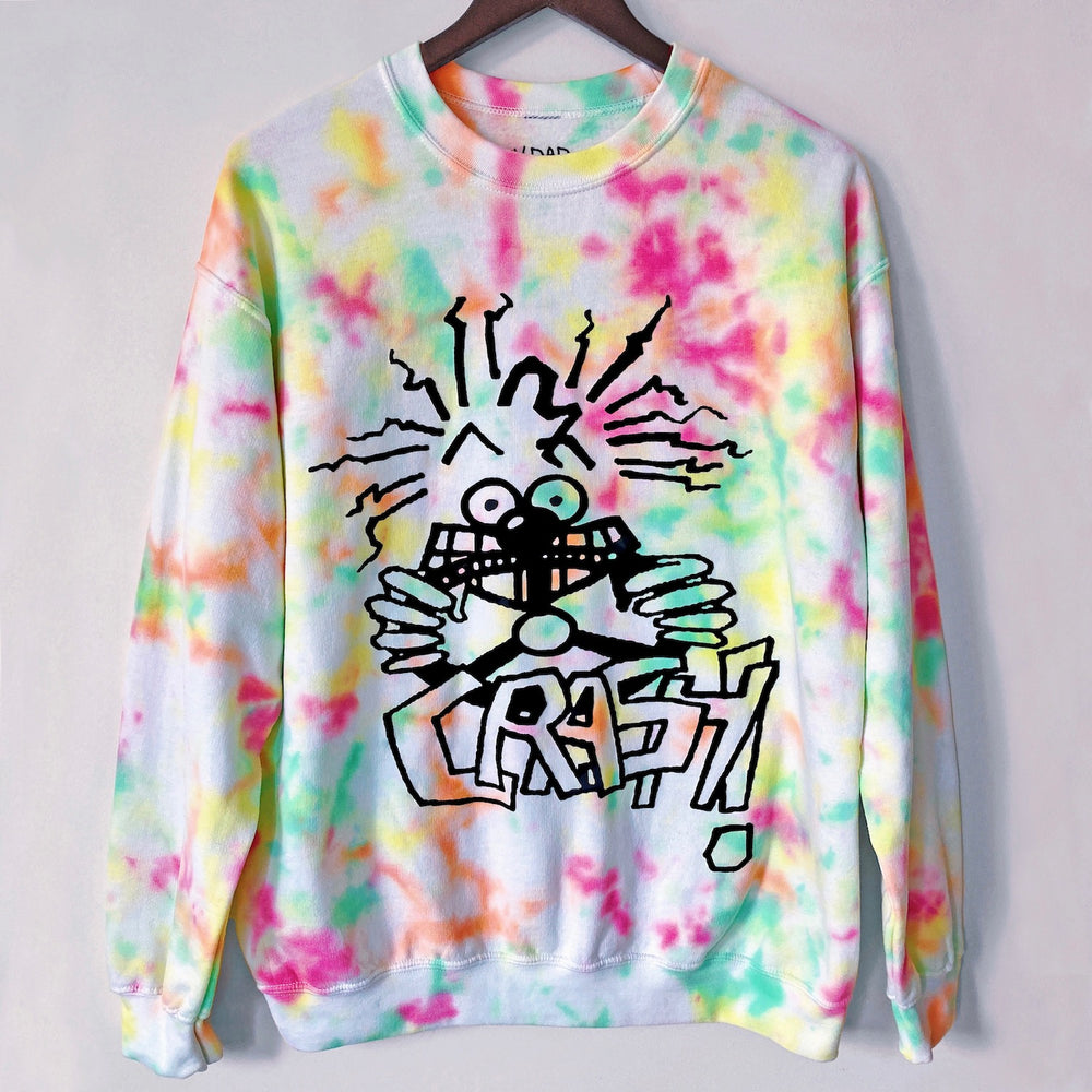 CRASH Tie-Dyed Crew