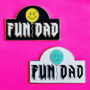 FUN DAD Pins