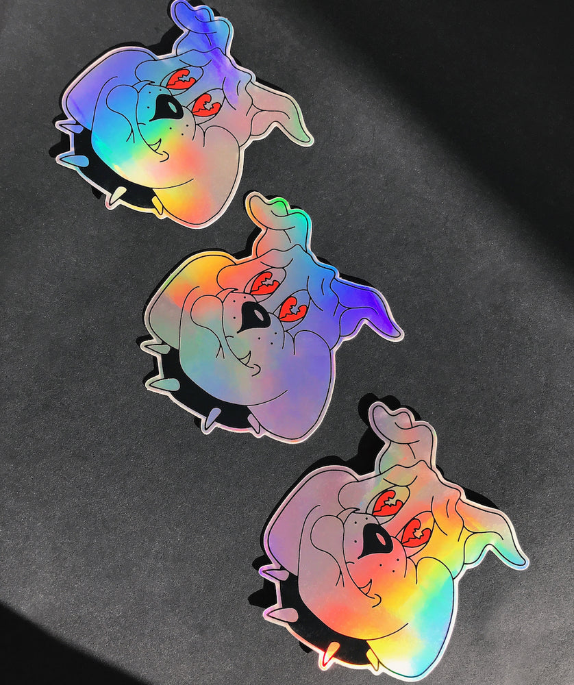 SAD BOY Holographic Sticker