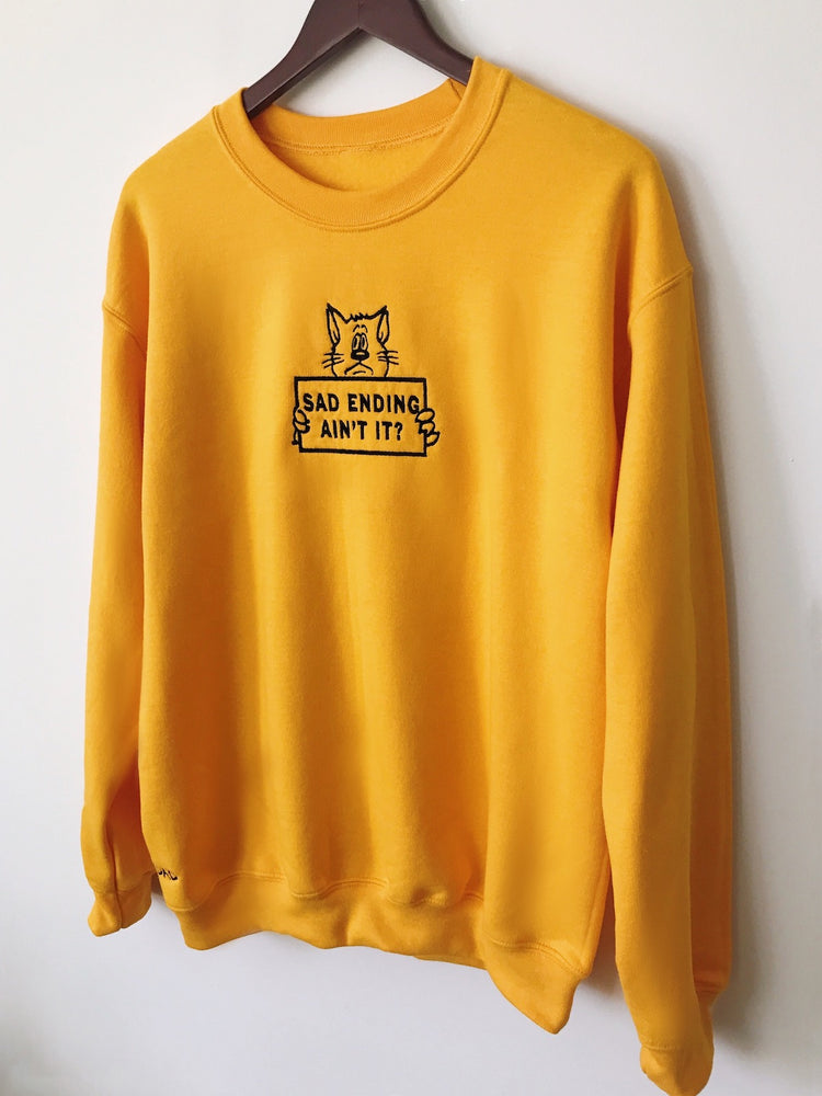 SAD ENDING Sweatshirt