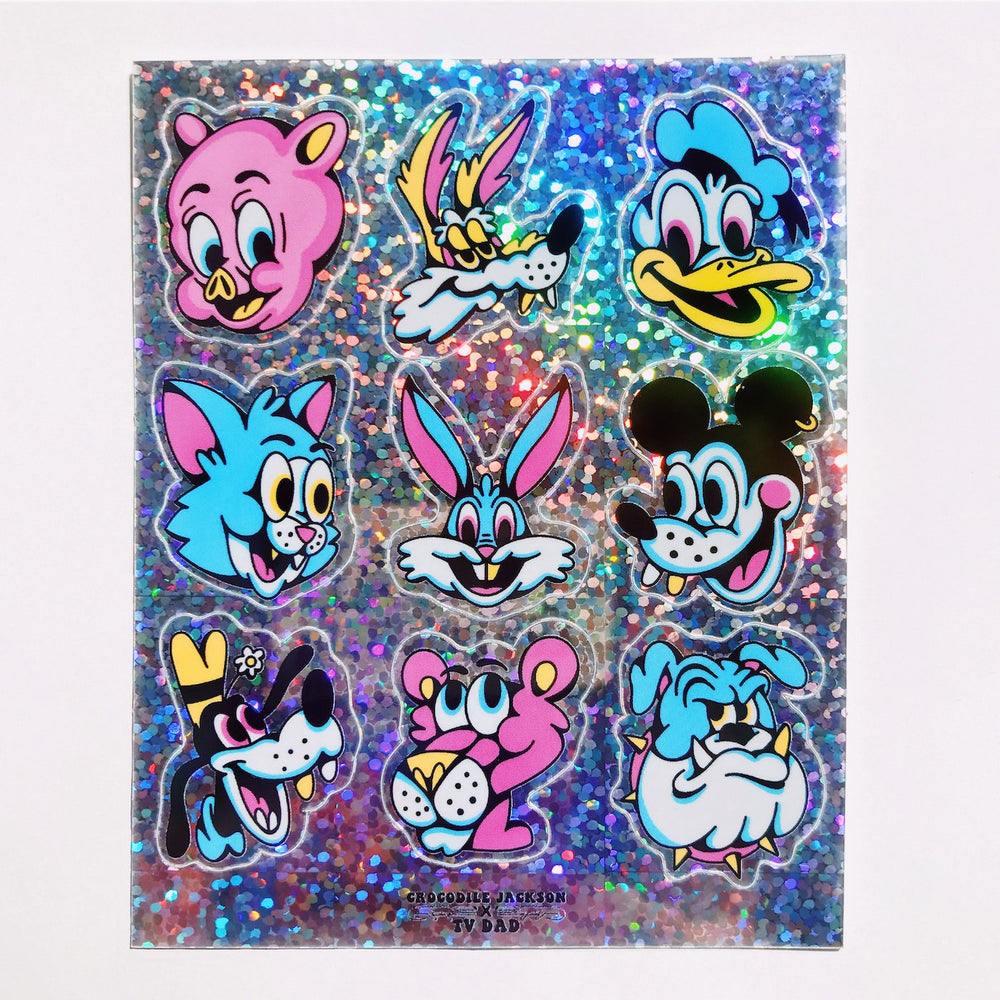 TOONHEADS Mini Sticker Sheets