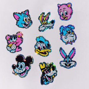 TOONHEADS Mini Stickers