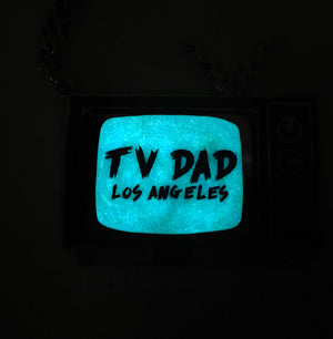 TV Glow in the Dark Keychain