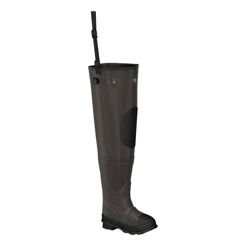 Proline Youth Stream Rubber Hip Wader - Rubber Outsole