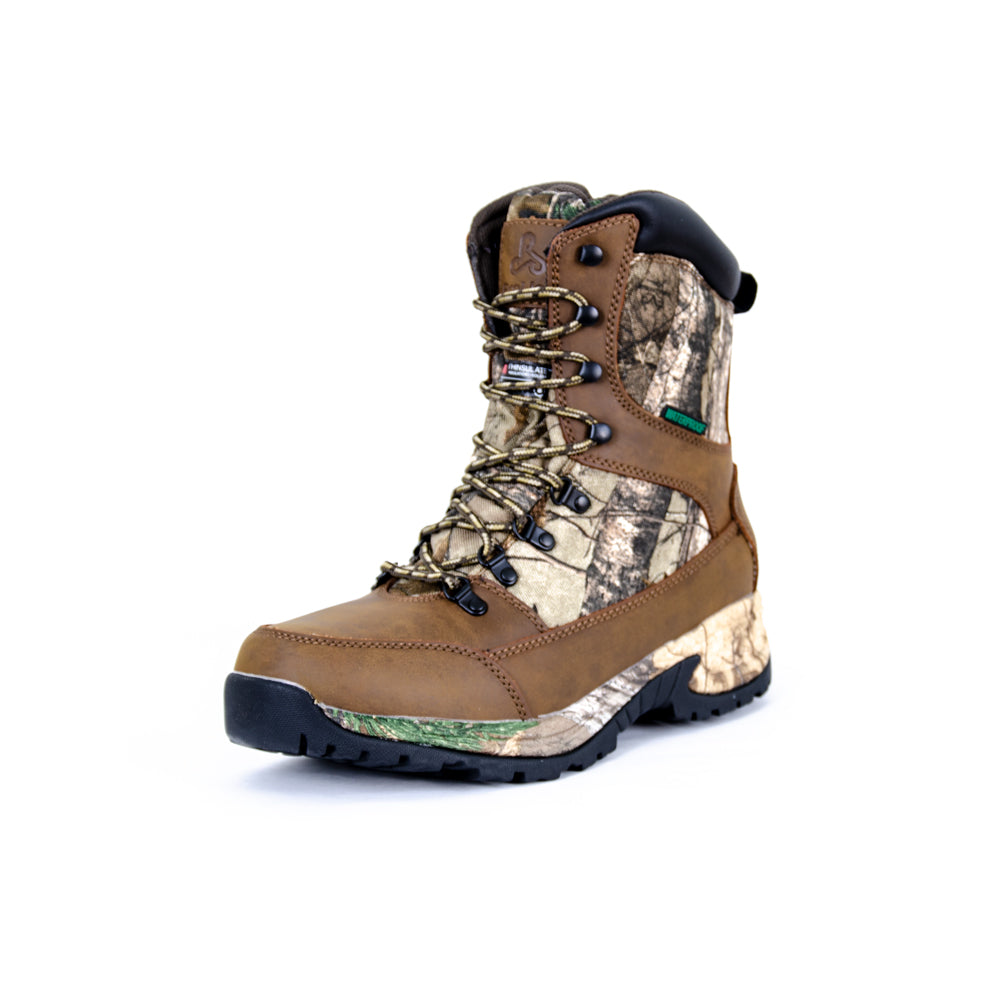 "Proline Tundra 10"" Camo Waterproof Hunting Boot"