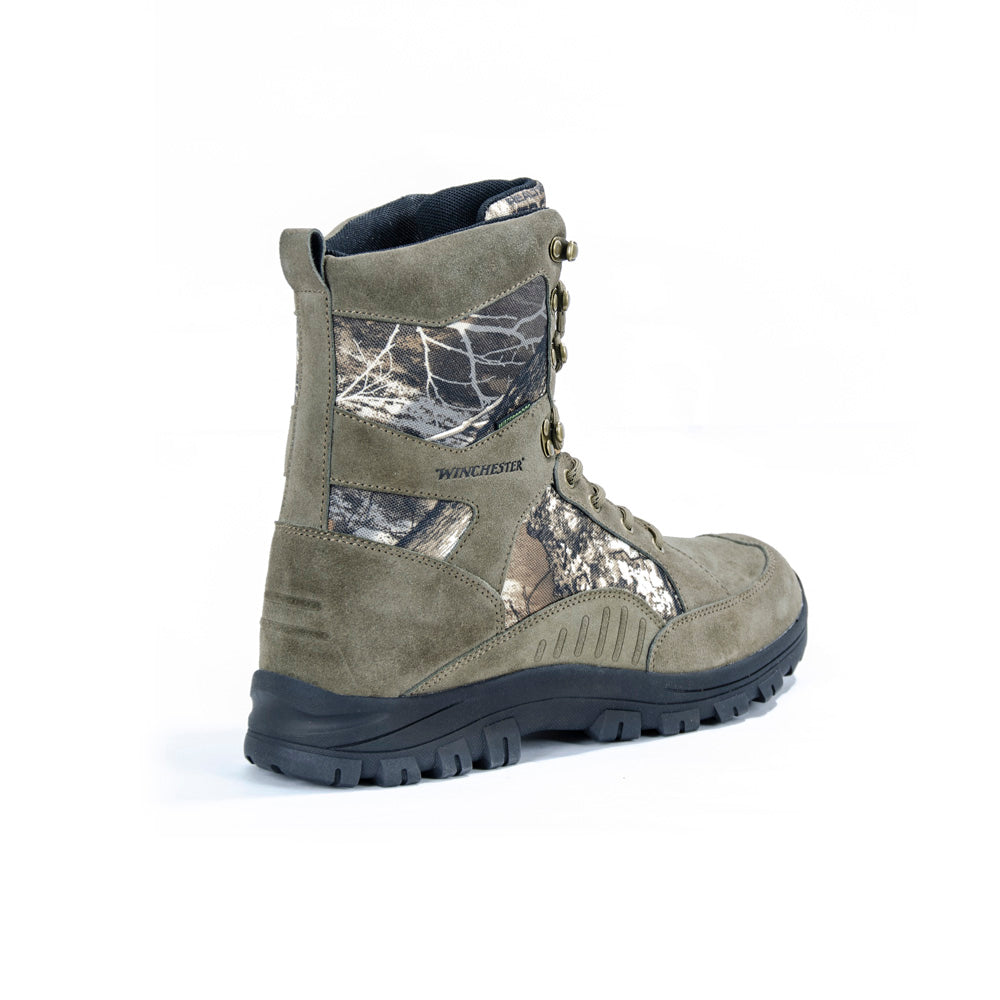 4b151daccb1 Winchester Green Mountain Camo Waterproof Hunting Boot