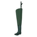 Proline Adults Twin River 2-Ply Hip Wader - Rubber Outsole