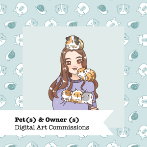 Pet(s) & Owner (s) Commissions