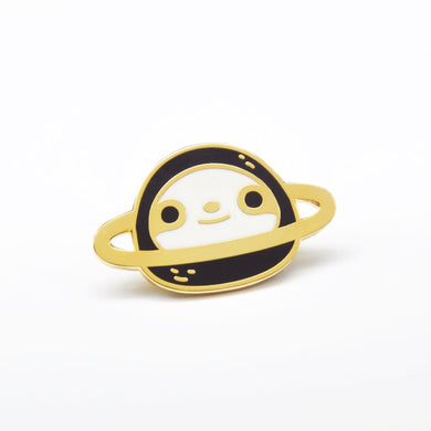 24K gold plated sloth pin by Noristudio