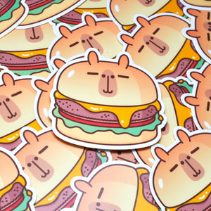 Moonch Cheeseburger Vinyl Sticker