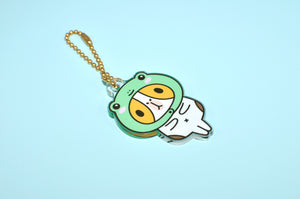 Limited Edition Everyday Bubu Acrylic Charm, Froggy Bubu