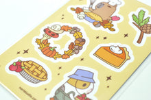 Cute Guinea pig and capybara sticker sheet by Noristudio