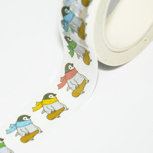 penguin washi tape emperor penguin masking tape washi masking tape for children penguin stationery penguin sticker