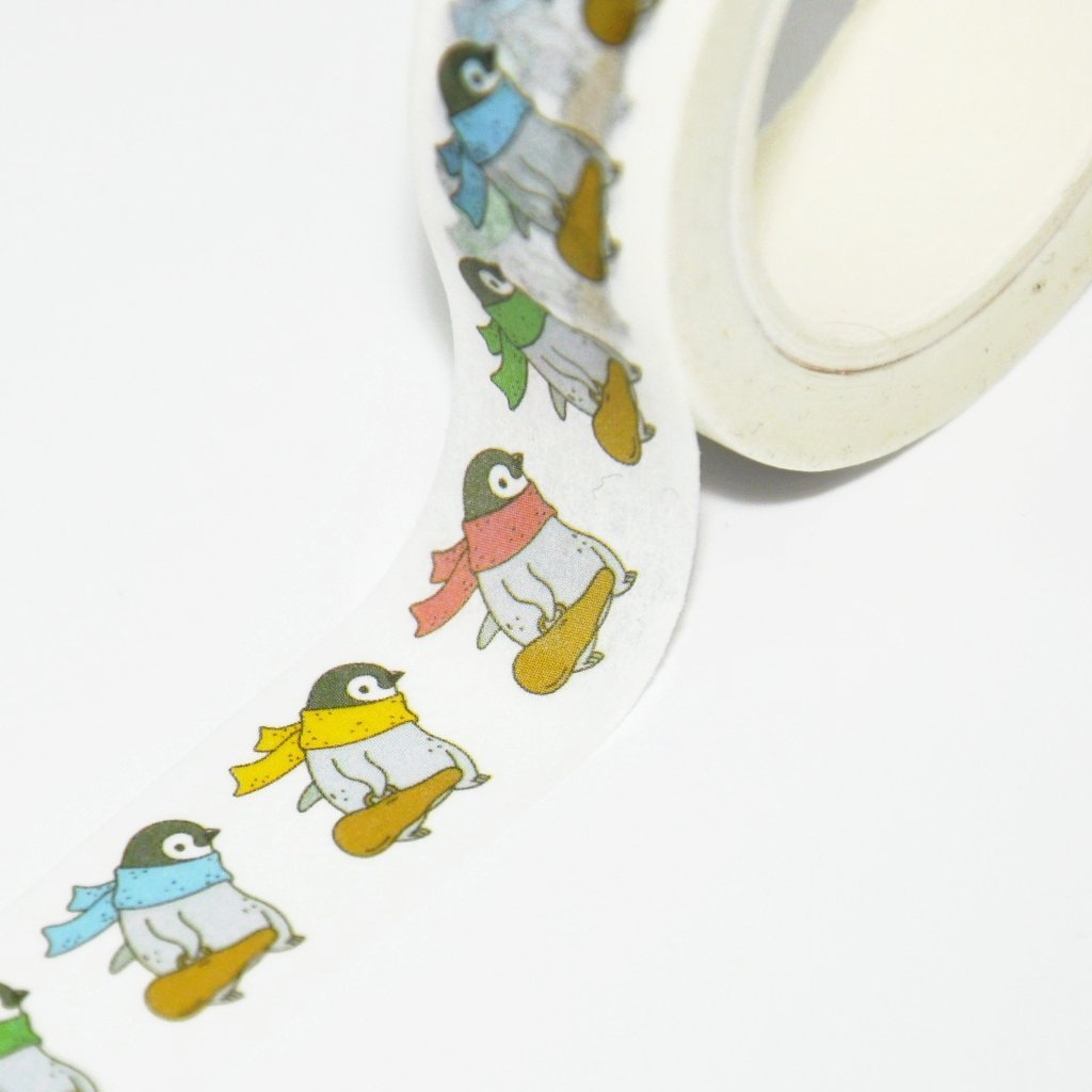 Penguin Violinist Washi Tape