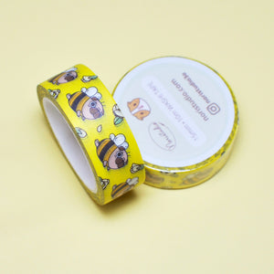 pug washi tape by Noristudio pug lover gift
