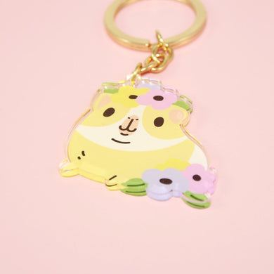 cute Guinea pig keychain by Noristudio
