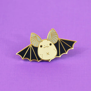 big-eared bat pin by Noristudio