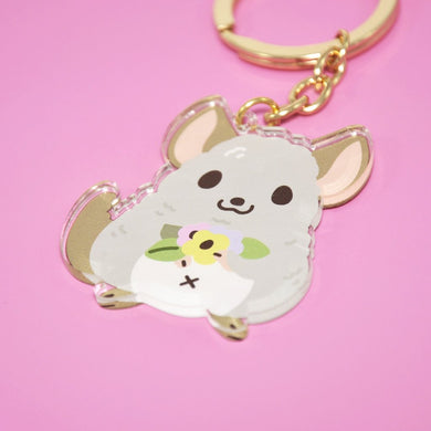 Chinchilla Keychain by Noristudio