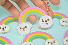 Rainbow Keychain by Noristudio