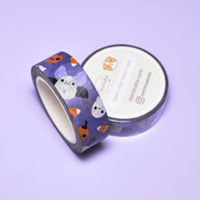 Halloween bat pattern washi tape by Noristudio