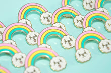 Rainbow Bichon Frise Enamel Pin by Noristudio