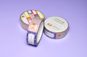 colorful washi tape by Noristudio