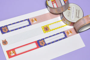 cute washi tape by Noristudio