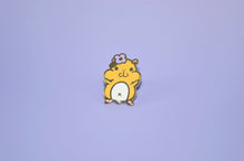 cute hammy pin by Noristudio