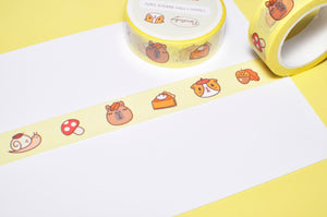 Bubu and Moonch Fall and Pie Washi Tape