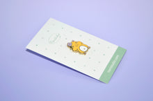 cute hamster enamel pin by Noristudio
