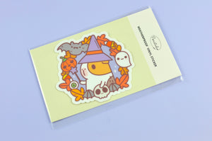 kawaii Halloween Guinea pig Sticker by Noristudio