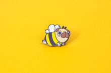 Pug Bee Enamel Pin
