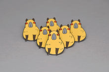 animal lapel pin capybara by Noristudio