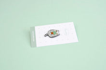 Tabby cat lapel pin by Noristudio