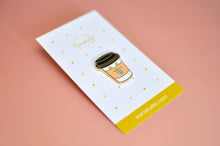 coffee lover pin by Noristudio