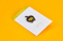cute black cat pin cat lover gift by Noristudio