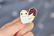 sloth pin ice cream sloth sloth lover gift by Noristudio