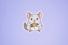 Chinchilla vinyl sticker by Noristudio