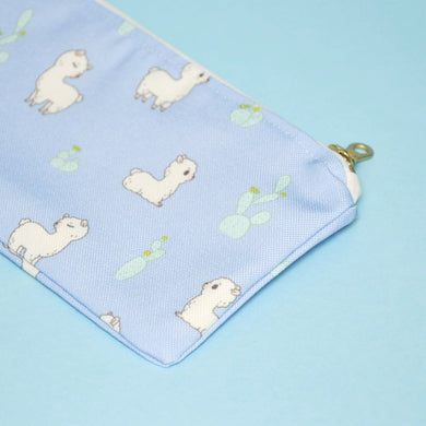 alpaca zipper pouch by Noristudio