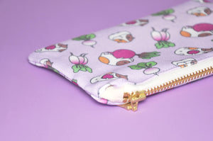Guinea pig fabric by Noristudio, Guinea pig zipper bag