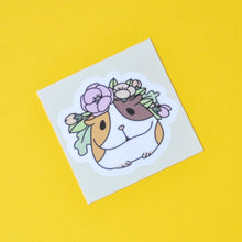 Guinea pig vinyl sticker by Noristudio