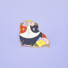 Brown Guinea pig pin by Noristudio