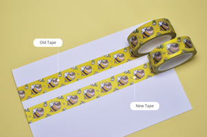 pug masking tape by Noristudio pug back to school gift