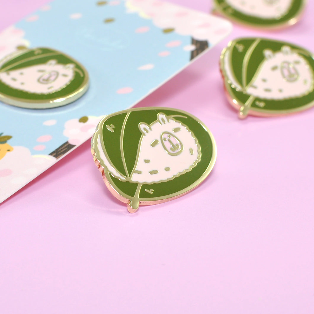 Sakura Mochi Moonch Enamel Pin