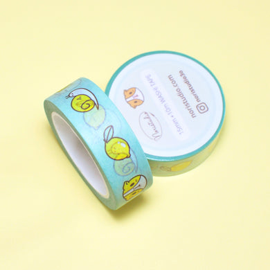 Guinea pig gift, cavy gift, mint green washi tape