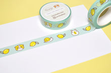 mint washi tape, Guinea pig washi tape, capybara, snail