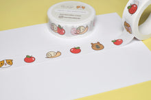 Bubu and Moonch Apple Washi Tape