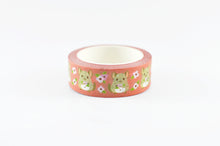 cute chinchilla masking tape by Norisutdio pink washi tape